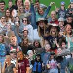 2015 summer staff collage